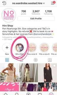 Designer clothes for sale!