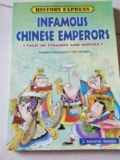 Chinese emperors comics