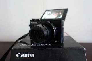 Canon Powershot G7X 85%新行貨 1.8大光圈 美肌女神youtuber機
