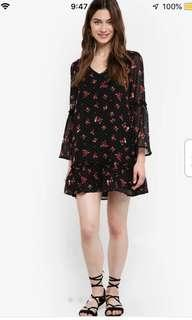Floral Dress - Something Borrowed
