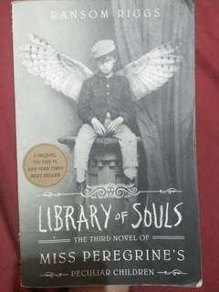 Library of Souls by Ransom Riggs pre-loved