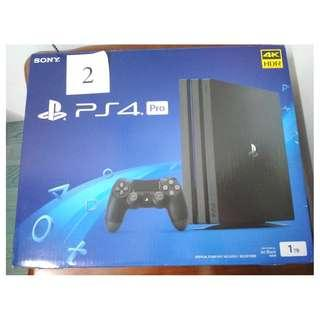 PS4 Pro 1TB BRAND NEW!!