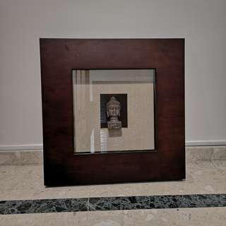 Wall Decor / Wall Art Piece / Bronze Buddha Head