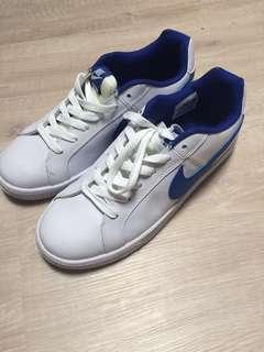 Nike White and Blue Court Royal