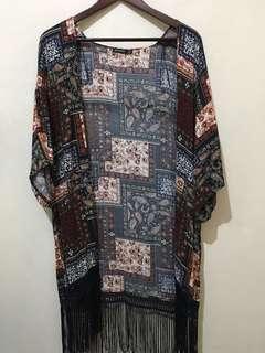 #bersihbersih Outer Kimono Batik
