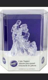[INSTOCK] Bride Groom Cake Topper