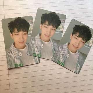SEVENTEEN You Make My Day Meet Version Wonwoo photocard