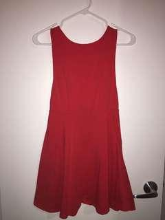 Mini Dress - Red