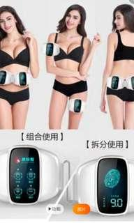 Waist and arms massager for toning