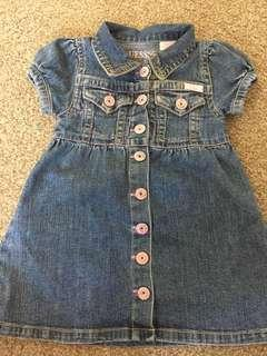 Baby Guess dress for 12months old