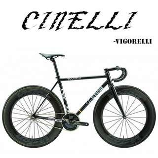 CINELLI  Fixed Gear full bike/frameset  - VIGORELLI 2019 - ELECTRIC STEEL BLACK KNIGHT , limited stock, grab yours.
