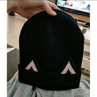 🚚 貓耳毛帽