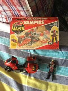 Vintage kenner m.a.s.k vampire complete with box