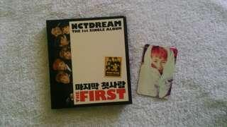 NCT DREAM 1st Single Album MY FIRST AND LAST