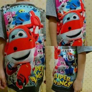 Kaos Anak Super Wing Tshirt Import Thailand