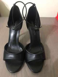 Charles & Keith Black Heels - Size 38