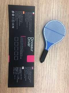 Dinosaur Driver - tennis racket USB 2.0
