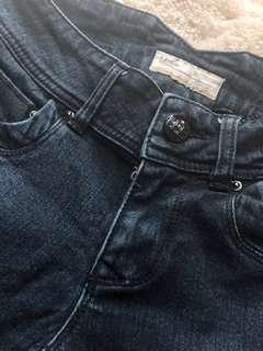 Dark Blue Denim Pants