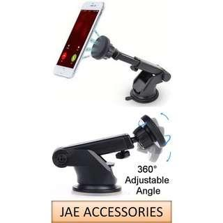 360° Magnetic Dashboard/Glass Mount Adjustable Car Holder