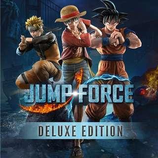 預訂 PS4 JUMP FORCE 豪華版 行貨中文版 發售日:2019年2月14日