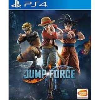 預訂 PS4 JUMP FORCE 普通版 行貨中文版 發售日:2019年2月14日