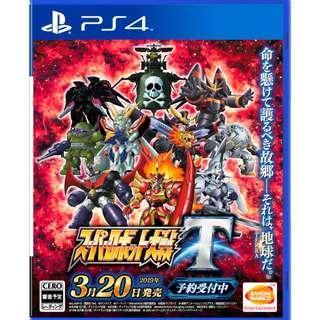 預訂 PS4 超級機器人大戰 T (行貨中文版) 發售日:2019年3月20日