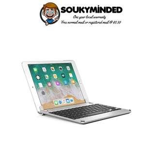 [IN-STOCK] Brydge 9.7 Keyboard for iPad 9.7-inch, Aluminum Bluetooth Keyboard for iPad 6th Gen (2018), iPad 5th Gen (2017), iPad Pro 9.7 inch, iPad Air 1 and Air 2 (Silver)