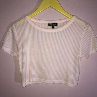 Cropped top from Topshop