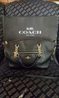 Coach Chain Prairie Satchel