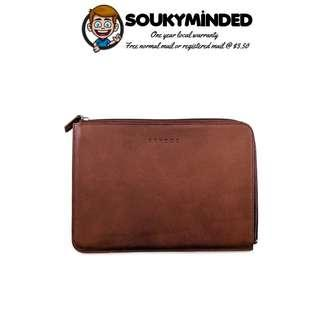 """[IN-STOCK] Brydge 11-inch Leather Folio for iPad Pro 10.5 / iPad 9.7 / iPad 6th Gen & 5th Gen and 10"""" Surface Go (Brown)"""
