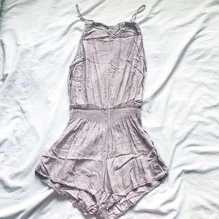 Brandy Melville Blanche rompers