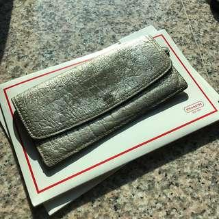 Coach Real Leather Wallet 真皮長銀包