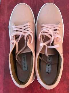 Cotton Ink Pink Shoes