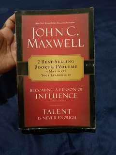 (2-in-1) Becoming a Person of Influence and Talent is Not Enough