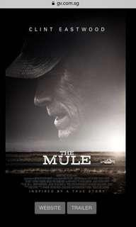 The Mule movie tickets @ GV