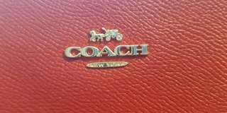 Red Pouch by Coach