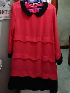 bread n butter coral color one piece