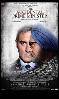 Accidental Prime Minister movie tickets @ GV