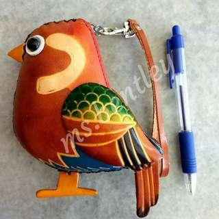 Cute Leather Animal Pouch