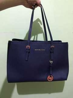 Michael Kors Bag - Blue Navy - Second Original 99% no defect