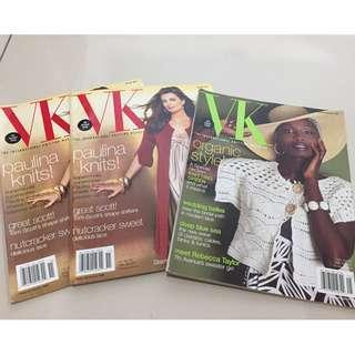 VK Internal Knitting Magazine X3