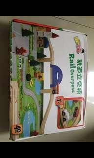 Rail Overpass Toys #bersihbersih