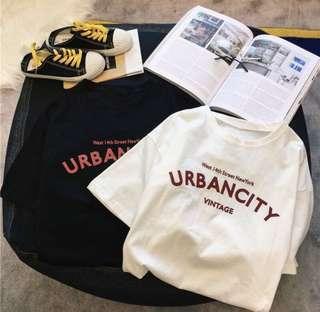 INSTOCK White urban city tshirt