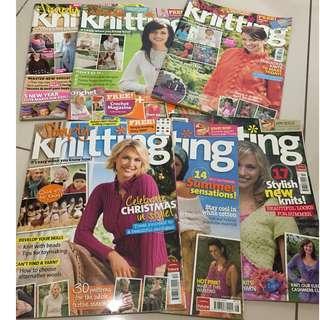 Simply Knitting Magazine X6