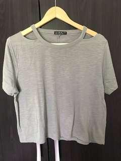 Cotton On Open Back Crop Top