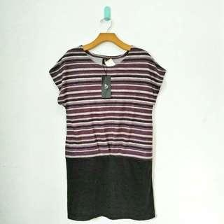 Purple Stripe Tee