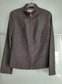 🚚 全新,馬獅龍MICHEL RENE外套,尺寸36,鐵灰色