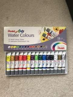🚚 watercolour tubes 15 colours