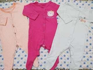 Sleepsuit mothercare newbon bisa digunakan up3m
