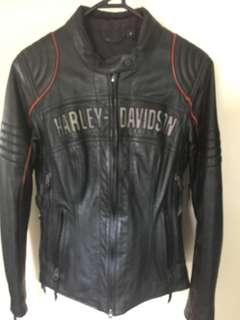 Harley Davidson Leather Jacket Size Small